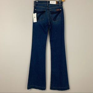7 For All Mankind Jeans - NWT 7 For All Mankind Dojo Flare Jeans 25